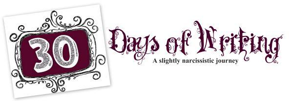 30-days-of-writing
